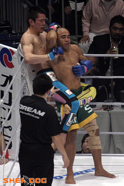 shinya aoki grappling tights spats 13 Gesias Cavalcante