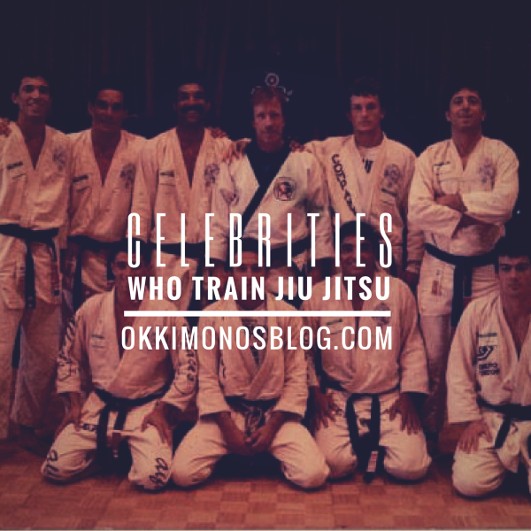 celebrities who train bjj