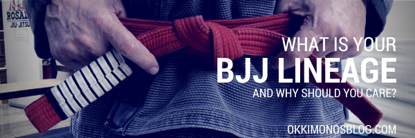 what is your bjj lineage ok kimonos