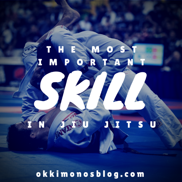 the most important skill in jiu jitsu