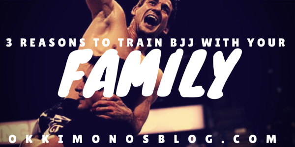 3 reasons to train bjj with your