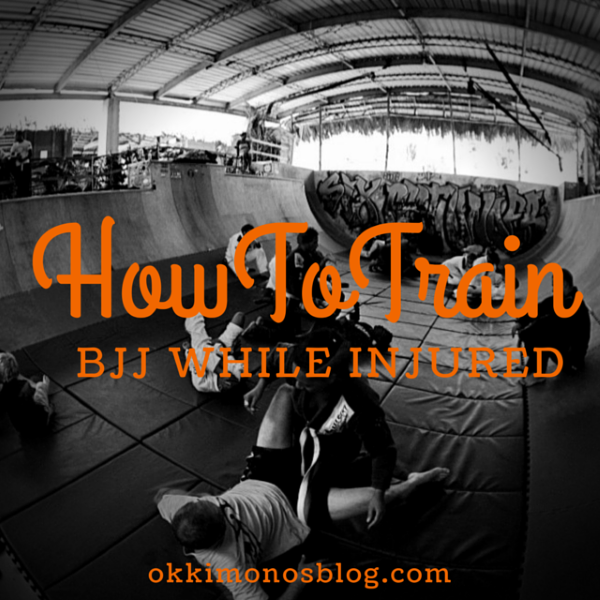 how to train bjj while injured
