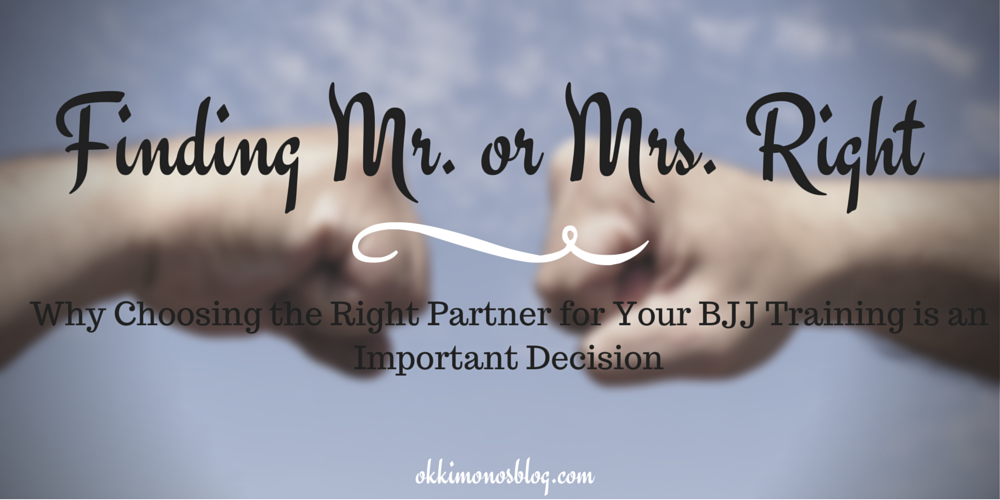 Finding Mr. or Mrs. Right