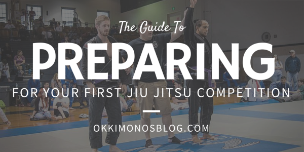 preparing for your first bjj competition
