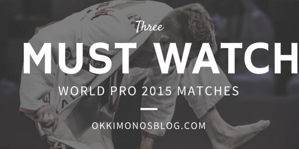 world pro 2015 must watch matches