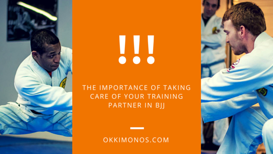 taking care of your training partner in bjj