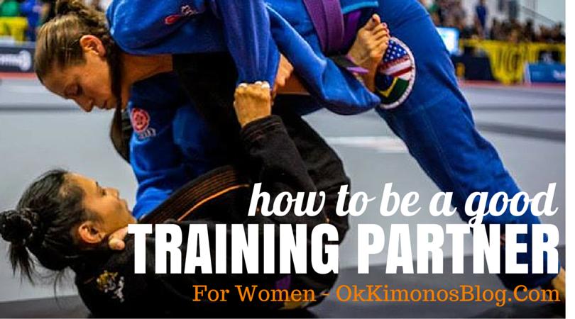 good bjj training partner for women