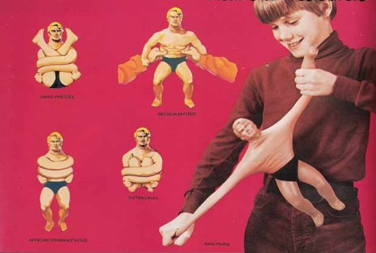 Remember Stretch Armstrong? Maybe don't be that flexible.