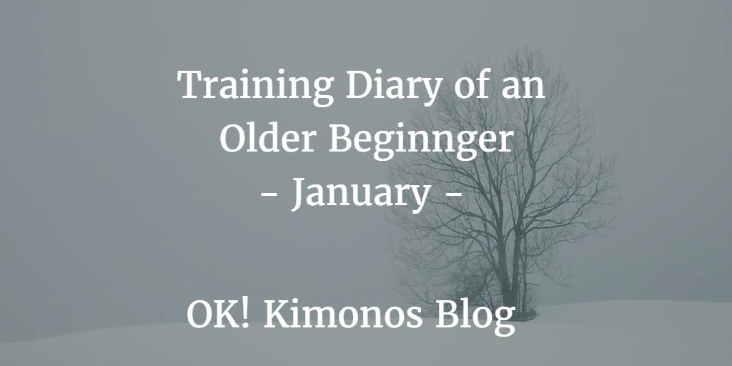 Training Diary of an Older Beginner   Ok! Kimonos